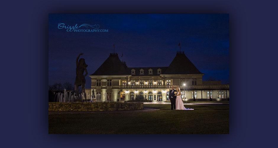 Chateau Elan Bride and Groom Portrait