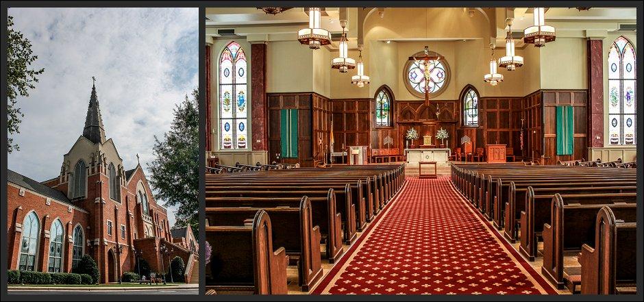 Catholic wedding in Roswell, GA