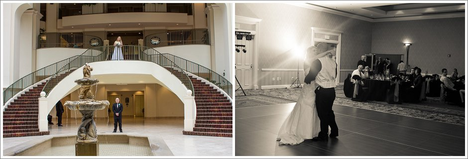 Chateau Elan first look and first dance