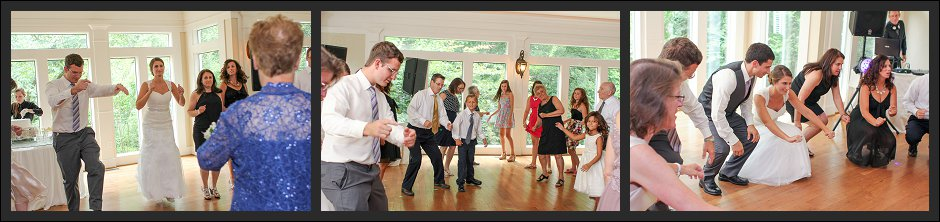 Primrose Cottage reception dancing