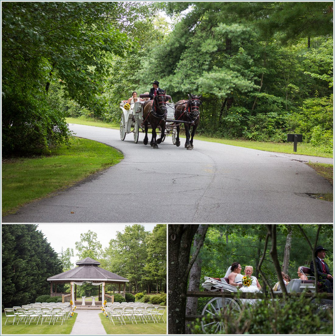 forrest hills mountain resort wedding - grizzle photography