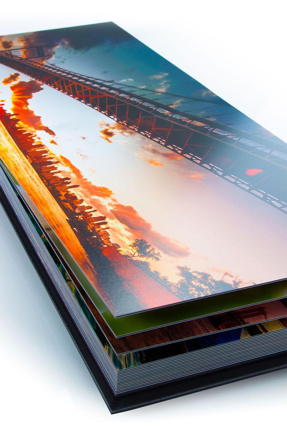 layflat panoramic albums
