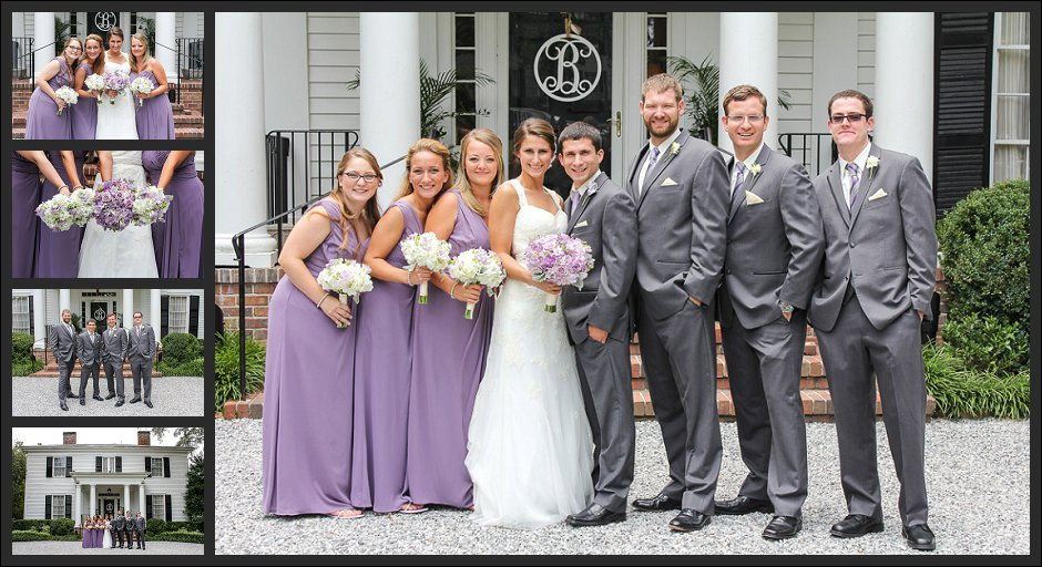 Primrose Cottage wedding party